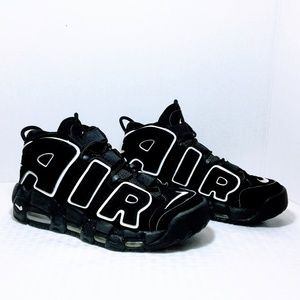 Nike Air More Uptempo 2010 in Black / White
